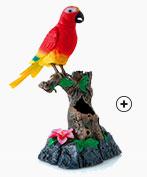 Jouet perroquet parlant