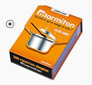 Livre de cuisine recette Marmiton