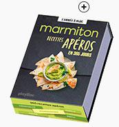 Idée cadeau : Calendrier chevalet recettes Marmiton apéro - Blancheporte