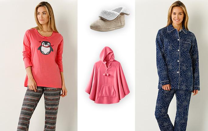 Pyjamas peignoirs tendance m me la nuit blog blancheporte - La blanche porte nouvelle collection ...