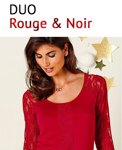 Duo Rouge & Noir