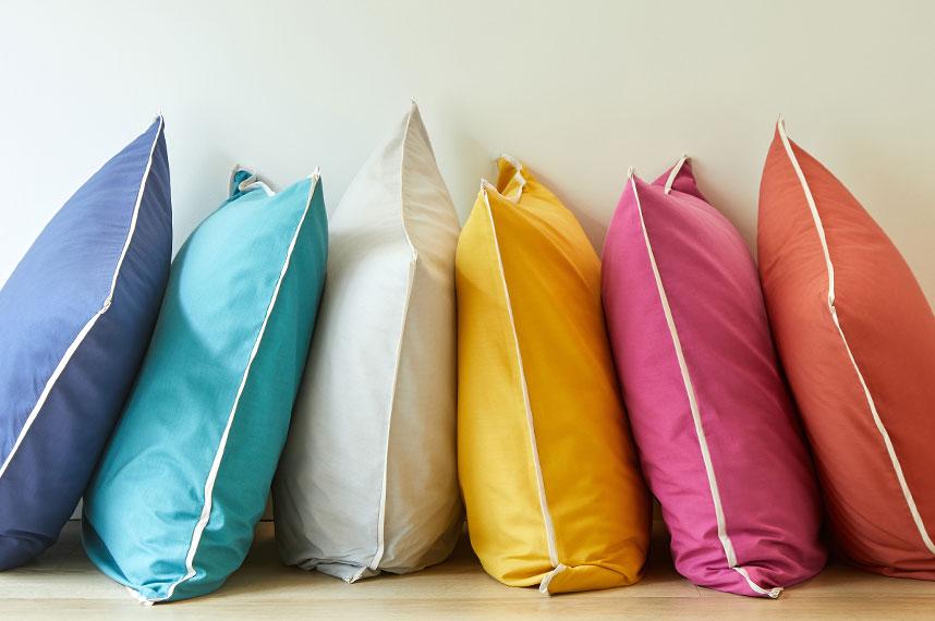 Linge de lit Automne-Hiver : aux couleurs du bonheur.