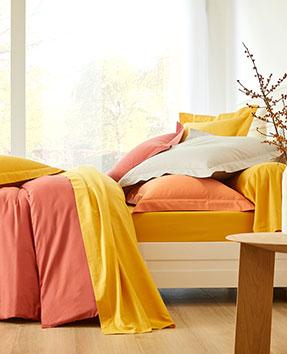 Les parures de lit en coton