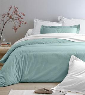 Les parures de lit en percale