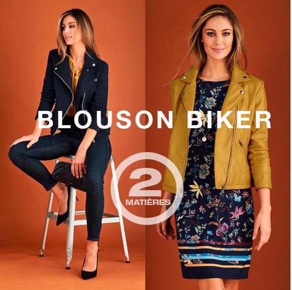 Le blouson biker