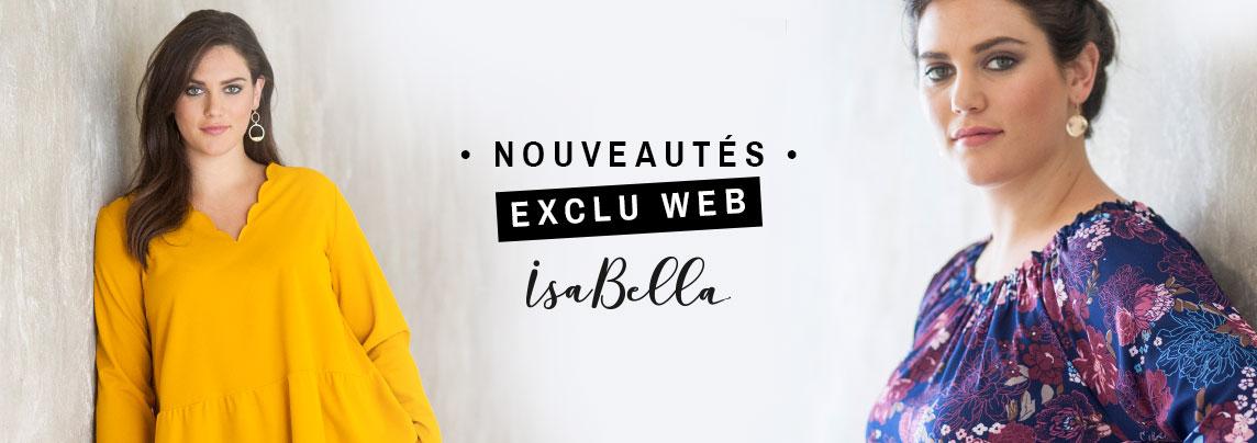 Isabella, la nouvelle marque Blancheporte du 42 au 58
