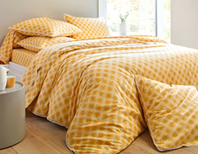 Le linge de lit Emma version jaune