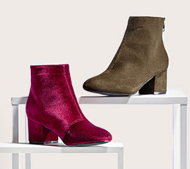 Boots velour