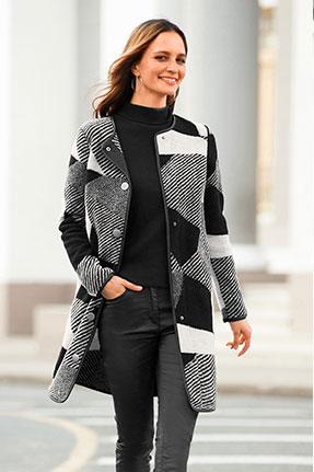Manteau graphique