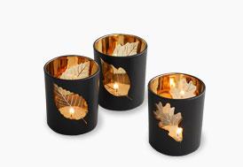 illuminez votre table de Noël avec ces photophores