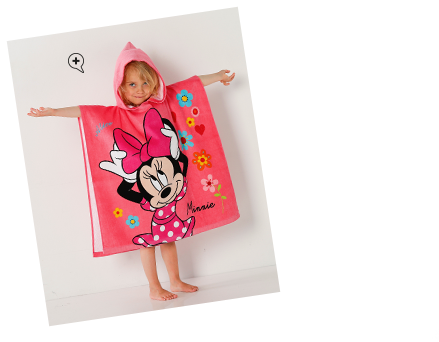 "Cape de bain ""Minnie Liberty""®"