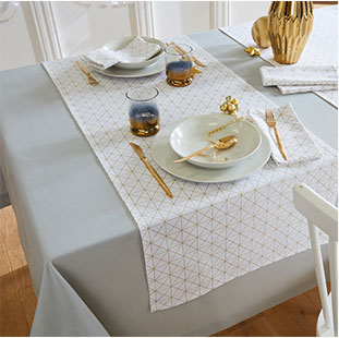 Nappe & chemin de table