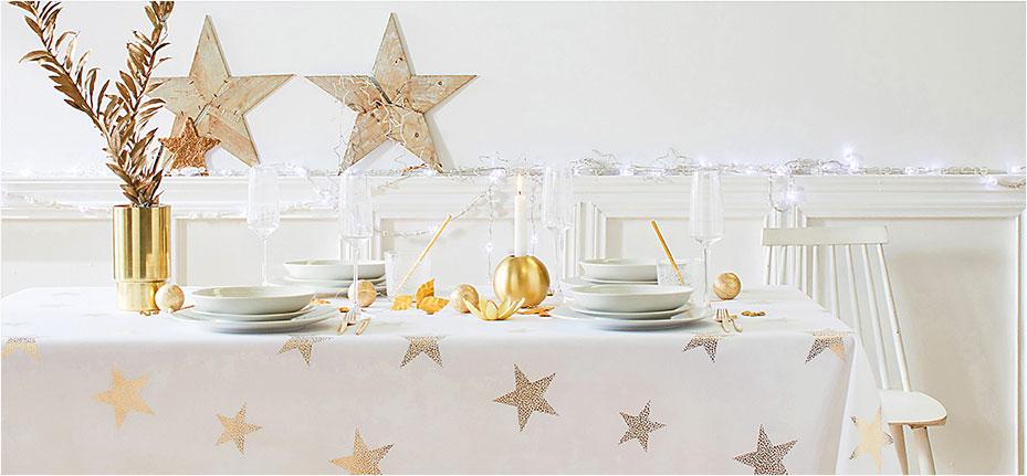 Déco de fêtes : la table à l'honneur !