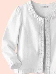 Tendance mode : le blanc d'été