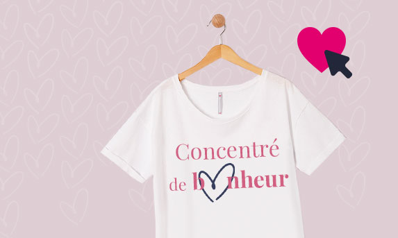 Actu: Créez votre tee-shirt et invitez vos ami(e)s à voter!
