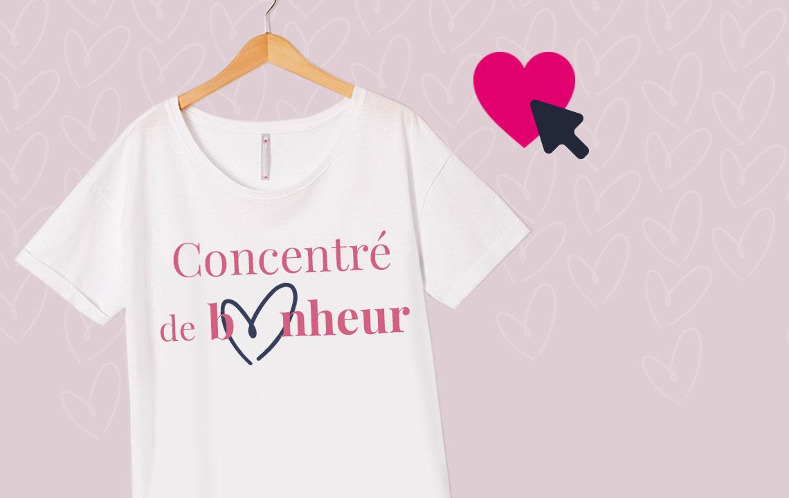Actu: Créez votre tee‑shirt et invitez vosami(e)sàvoter!