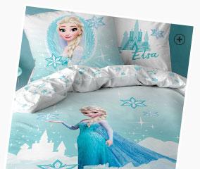 parure de lit « reine des neiges »