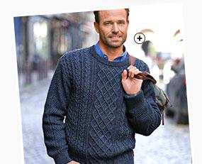 pull en laine homme