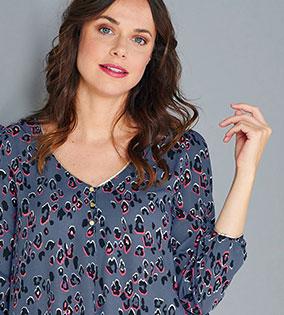 blouse imprimée