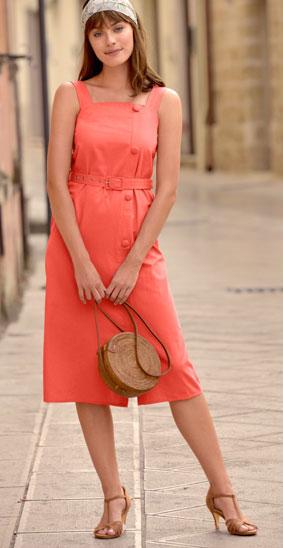 robe ceinturée