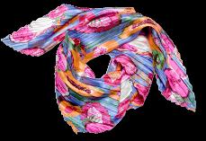 Foulard imprimé coloré