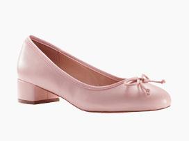 Ballerines roses petits talons - Blancheporte