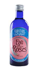 Eau de rose aromatisée