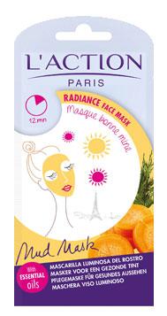Masque visage bonne mine huiles essentielles
