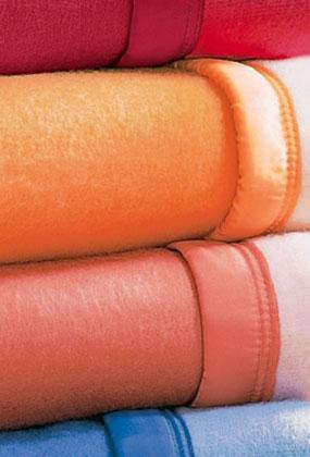 Couverture bicolore