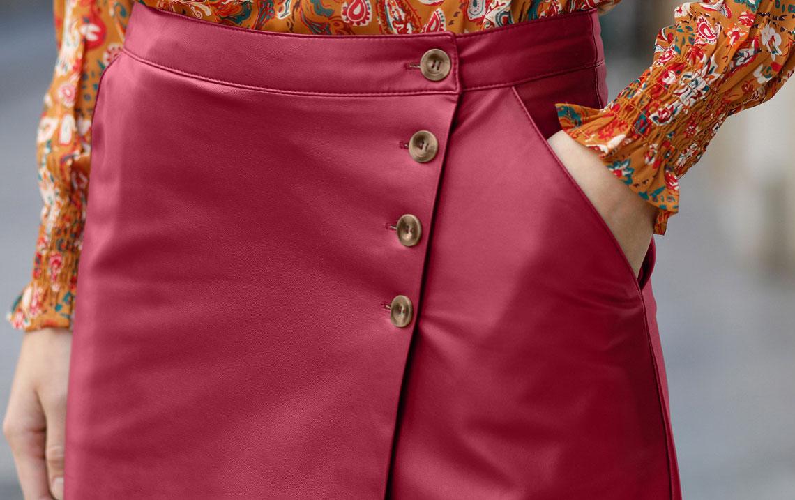 Comment porter la jupe portefeuille toute l'année ?