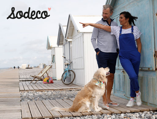 Collection mode femme et homme Sodéco  - pas cher - Blancheporte