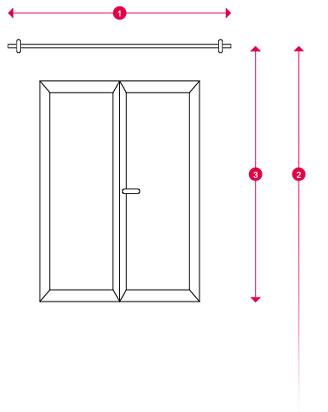 Comment prendre les mesures d'une fenêtre pour choisir ses rideaux ?