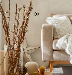 Branches guirlandes lumineuses intérieur Noël pas cher - Blancheporte
